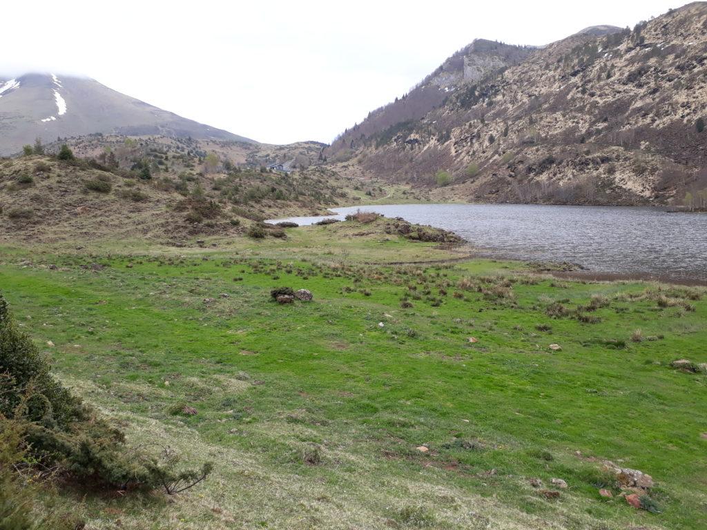Etang de Lers, highland